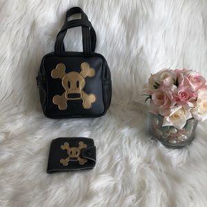 {Paul Frank} Scurvy Mini Bag and Wallet Set